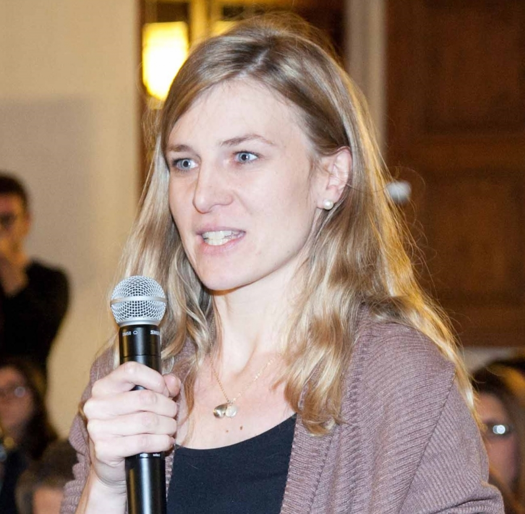 "Dr Daniela Huber (IAI) was a speaker at the 4th ""Brussels MENA Briefing"""