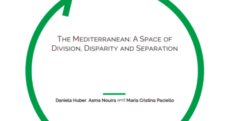 "New policy paper co-authored by Daniela Huber ""The Mediterranean: A Space of Division, Disparity and Separation"""