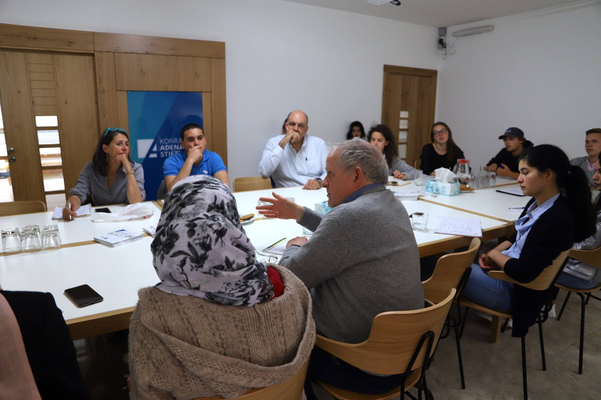 "Event: ""The international and regional dimension of the Israeli-Palestinian Conflict with a focus on the unintended consequences of the EU's state-building initiatives"" at the KAS"