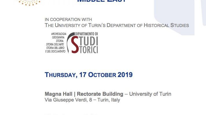 """Event: conference on """"Cultural heritage and illicit trafficking in a fragmented Middle East"""""""