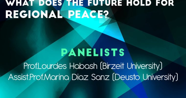 "Presentation: ""The West and the Middle East: what does the future hold for regional peace?"" at Yasar University"