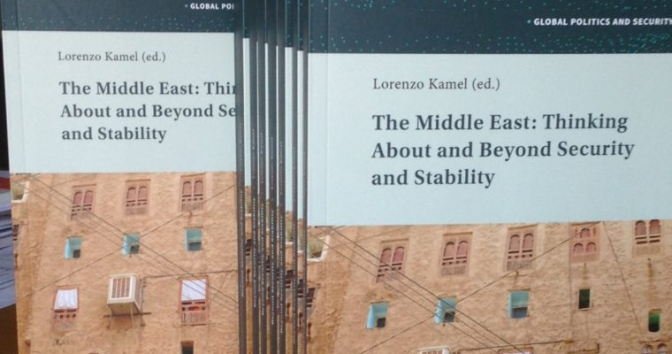 New book by Prof. Lorenzo Kamel
