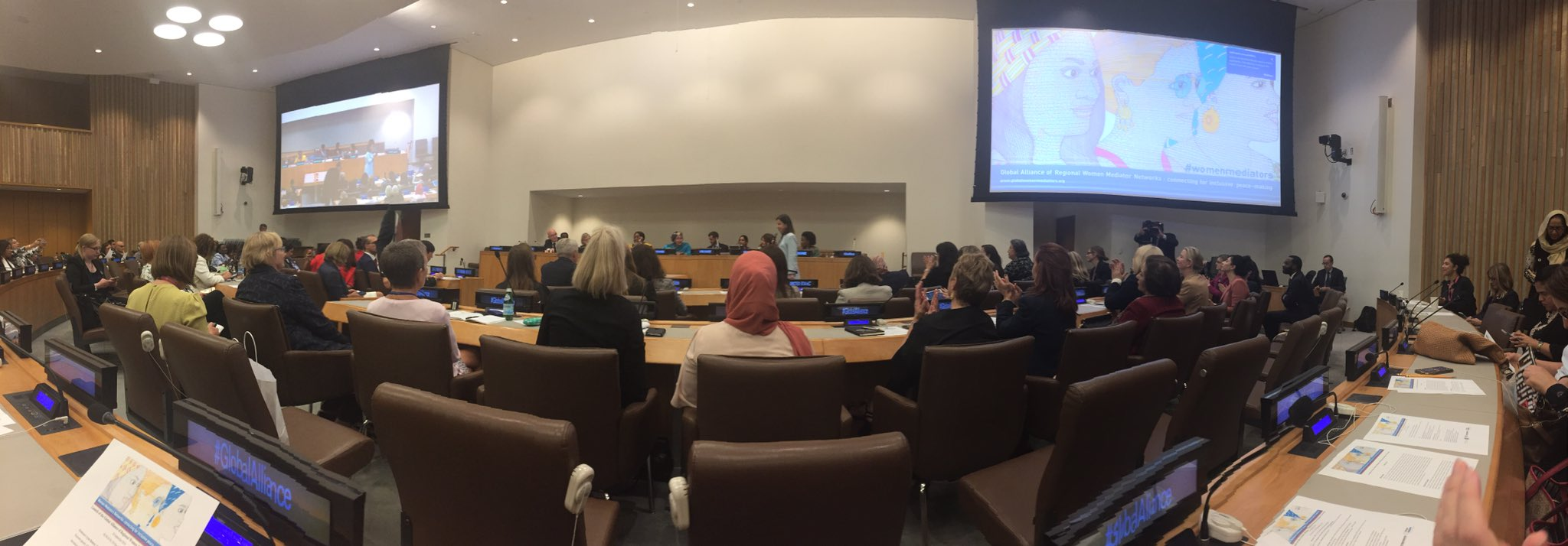 Event: launch of the Global Alliance of the Women Mediators' Network