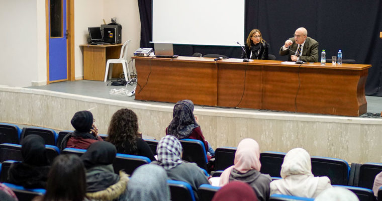 "Event: lecture ""Kashmir: The open conflict"" at Birzeit University"