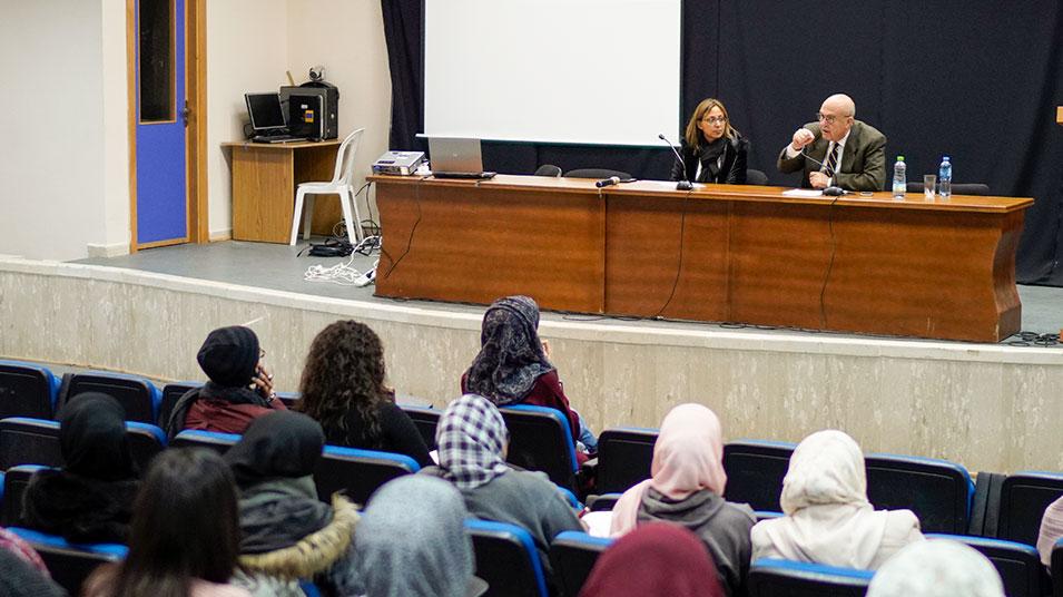 """Event: lecture """"Kashmir: The open conflict"""" at Birzeit University"""