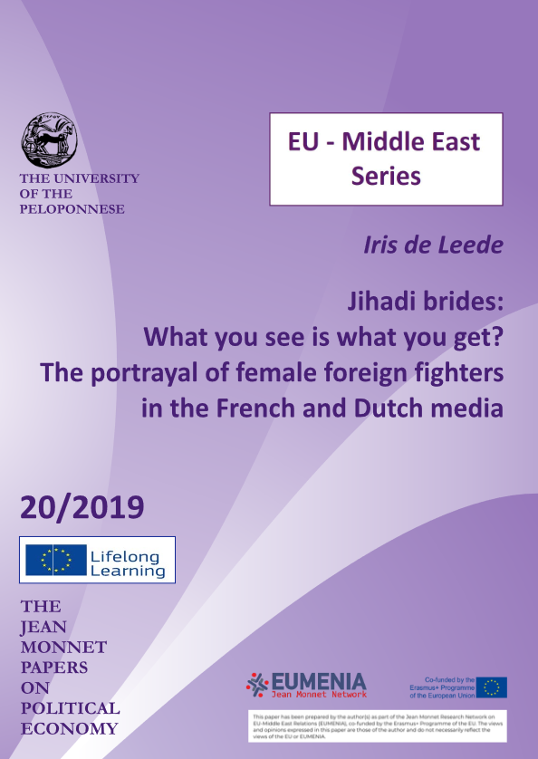 "Working paper n°2 ""Jihadi brides: What you see is what you get? The portrayal of female foreign fighters in the French and Dutch media"""