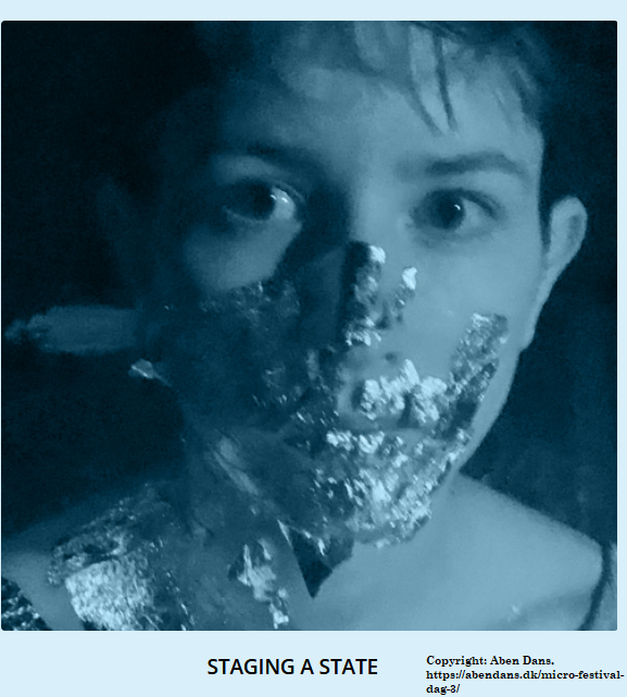 """New event: theatrical piece by choreographer Georgia Kapodistria """"Staging a State"""", 10-12 December."""