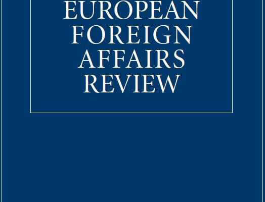 Publication: MEDRESET's work published in the Special Issue in ​European Foreign Affairs Review​