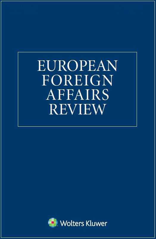 Publication: MEDRESET's work published in the Special Issue in European Foreign Affairs Review