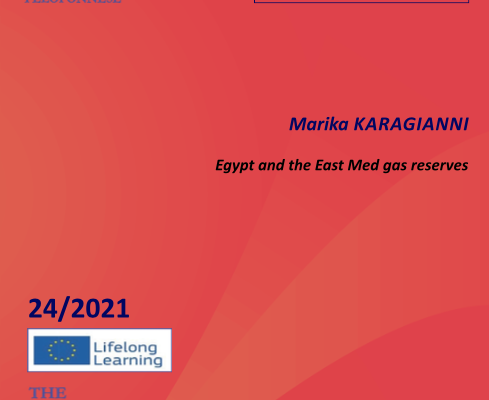 "WORKING PAPER N°4 ""Egypt and the East Med gas reserves"" by Dr. Marika Karagianni"