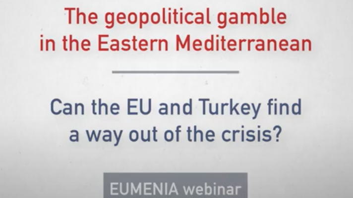 "EUMENIA's Webinar on ""The geopolitical gamble in the East-Med: can the EU and Turkey find a way out of the crisis?"" is now available on youtube!"