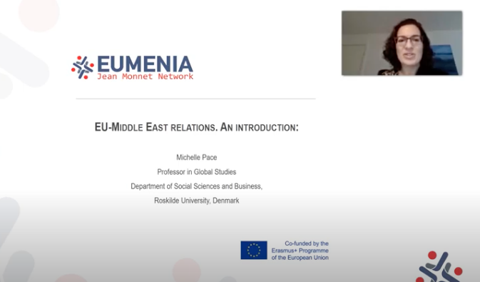 "EUMENIA's lecture ""EU-Middle East relations: an introduction"" is finally available on youtube!"