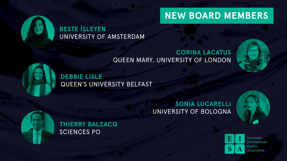 Dr Beste İşleyenelected to the Governing Board of the European International Studies Association